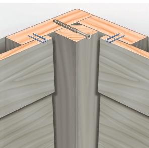 Turbo Fassadenzubehör - Fassade - MOCOPINUS UH83